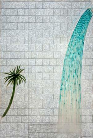 黒坂 祐 shower room, 2020